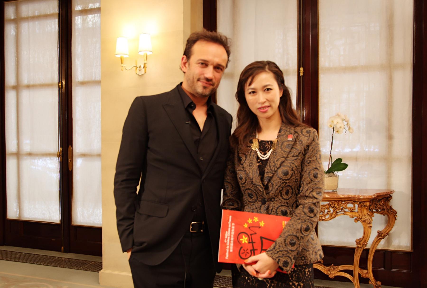 法国中国电影节形象大使法国著名影星文森特·佩雷斯