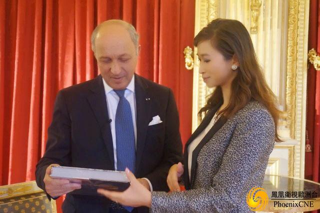 專訪法國現任外長洛朗·法比尤斯