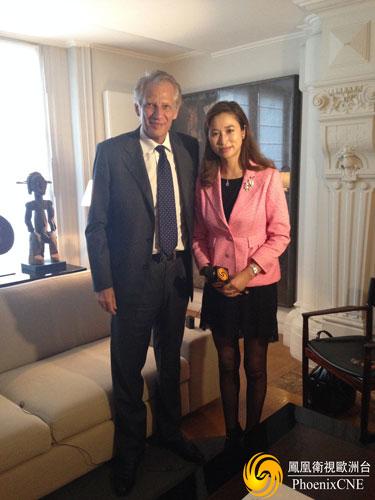 专訪法國前總理德維爾潘