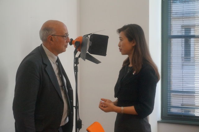 專訪體育事務大使讓·萊維