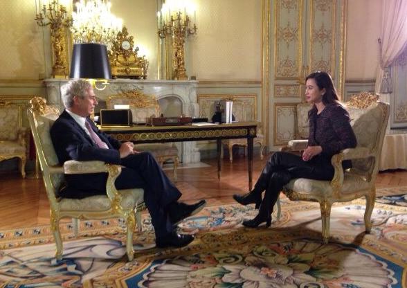 專訪法國國民議會議長克洛德巴爾托洛內