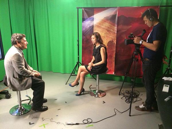 專訪前法國駐華大使馬騰
