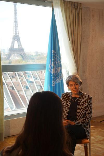 專訪聯合國教科文組織總干事伊琳娜·博科娃