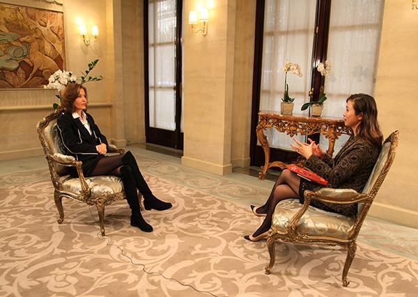 專訪中國法國電影節形象大使法國著名女導演安妮·芳婷