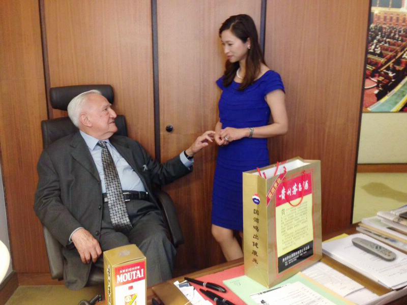 專訪法國參議院前議長彭斯萊