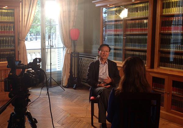 專訪巴黎中國文化中心主任殷福