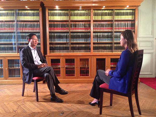 專訪巴黎 中國文化中心主任殷福
