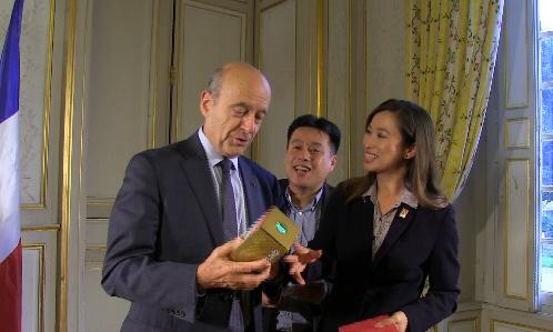 法國前總理、前外長、波尔多市市長、2017年总统大选候选人阿蘭·朱佩