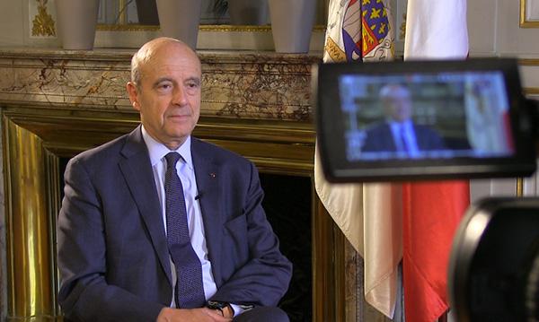 專訪法國前總理、前外長、波尔多市市長、2017年总统大选候选 人阿蘭·朱佩