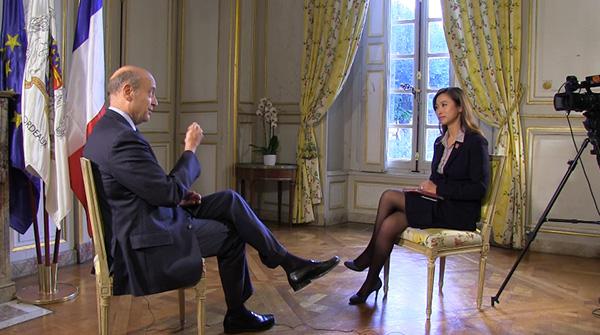 專訪法國前總理、 前外長、波尔多市市長、2017年总统大选候选人阿蘭·朱佩