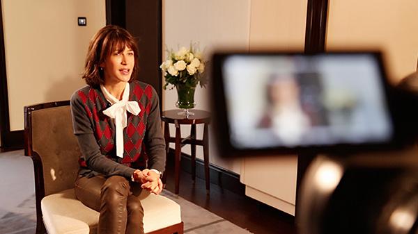 """專訪""""法蘭西玫瑰""""著名影星蘇菲·瑪索"""