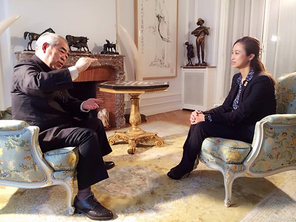 專訪著名國畫大師、學者范曾