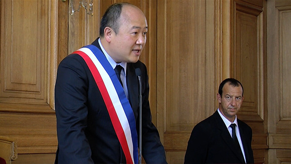 專訪法國巴黎十三區副區长首位華人市議員陳文雄