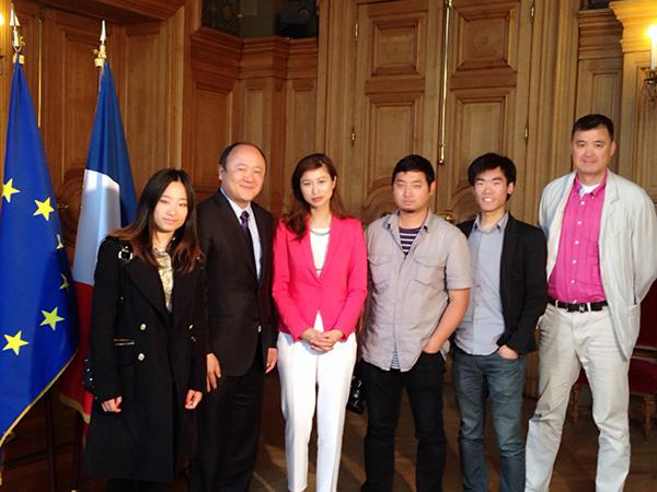 專訪法國巴黎十三區副區长首位華人 市議員陳文雄