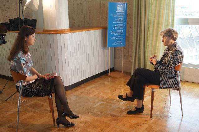 專訪聯合國教科文組織總幹事伊琳娜·博科娃